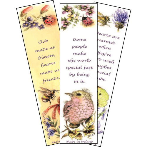 Dove craft range - Large bookmark