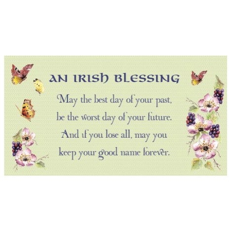 Irish Blessing - SY19