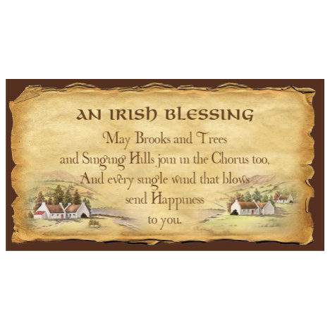 Irish blessing - SY23