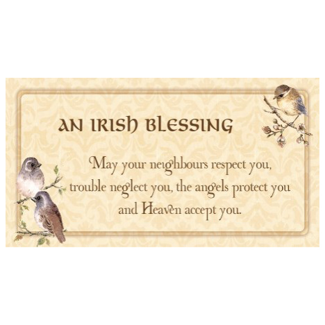 Irish blessing - SY24