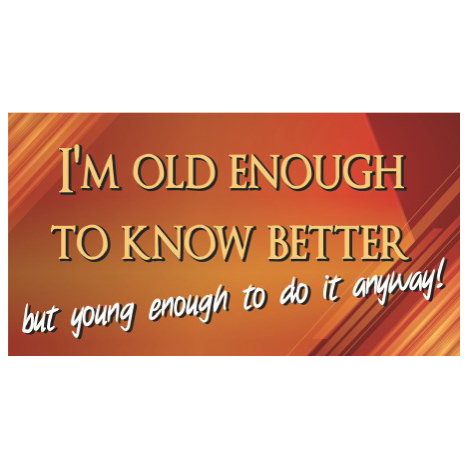 Old enough - SY27