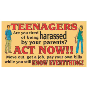 Teenagers - SY30