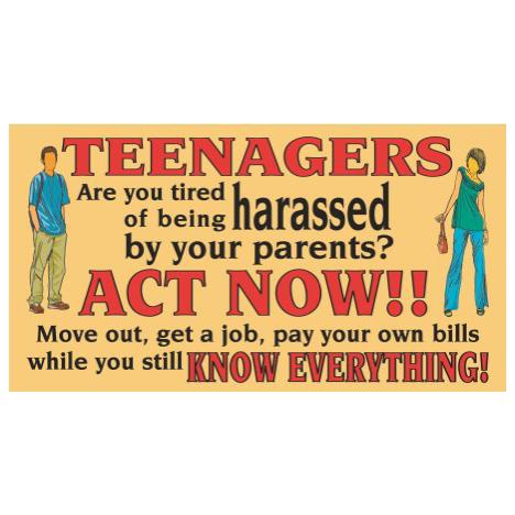 Teenagers - SY30