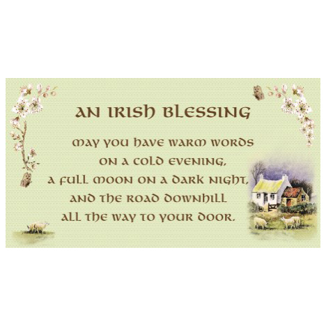 Irish Blessing - SY8