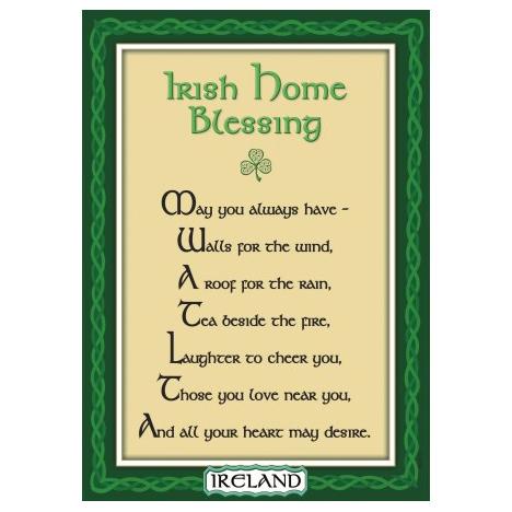 Irish home Blessing