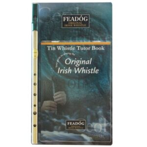 Brass Tin Whis-tle w-Book Ref- FW02