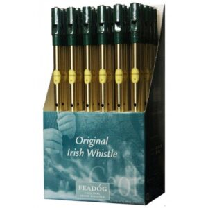 Brass Tin Whistle C.D.U. Ref- FW08