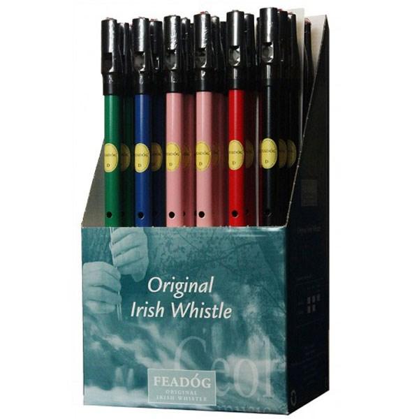 Colour Tin Whistle C.D.U. Ref- FW35