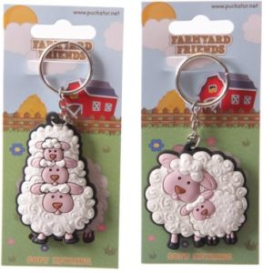Funky Sheep Keyring ref-KEY34