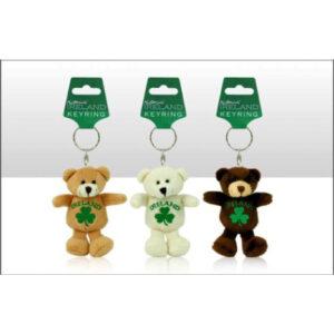 Ireland Bear Keyring Ref- 69057