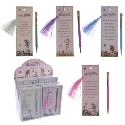 Pen & Bookmark Gift Set Ref-FY407