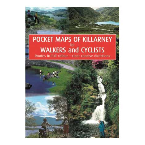 Pocket Map of Killarney for Walkers & Cyclists