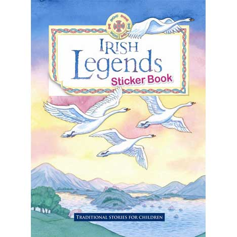 Irish Legends Sticker Book - ref 46048
