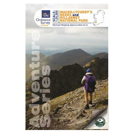 Adventure Series MacGillycuddy Reeks Map Ref-52267