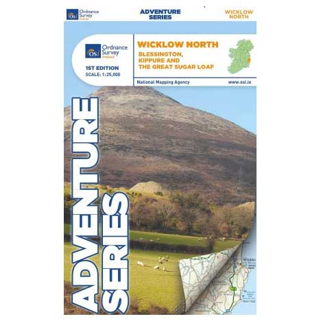 Adventure Series Wicklow North Map Ref-52366