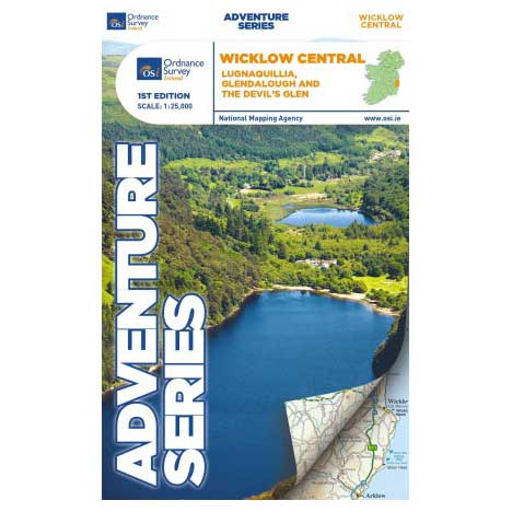 Adventure Series Wicklow Central Map Ref-52373