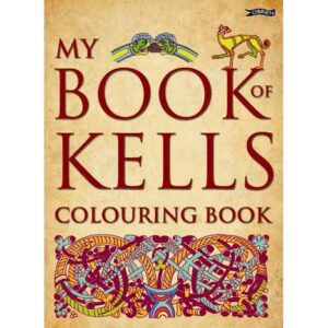 Book of Kells Colouring Book Ref- 72747