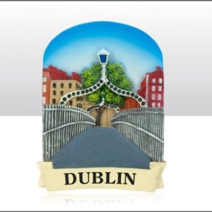 Resin Magnet - HaPenny Bridge Ref-69156