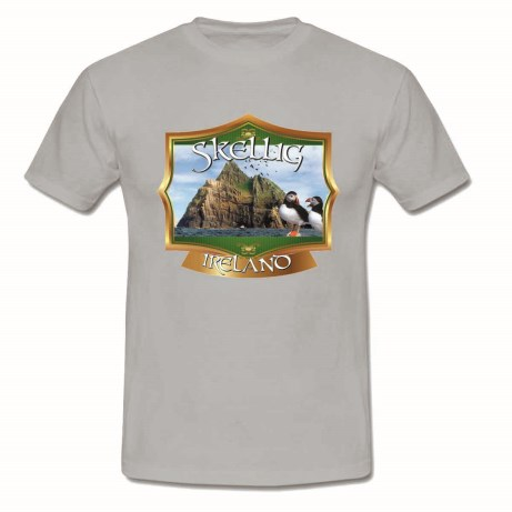 Skellig T-Shirt - Grey S Ref-05815 M Re-05822 L Ref-05839 XL Ref-05846