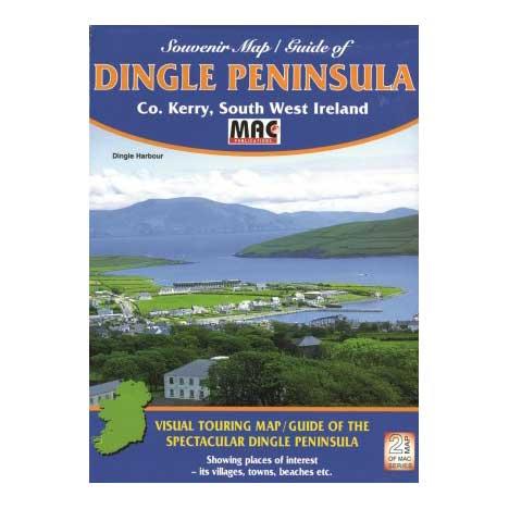 Souvenir Map_Guide of Dingle Peninsula