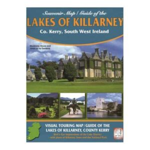 Souvenir Map_Guide of the Lakes of Killarney