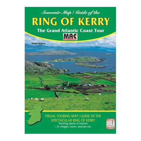 Souvenir Map_Guide of the Ring of Kerry