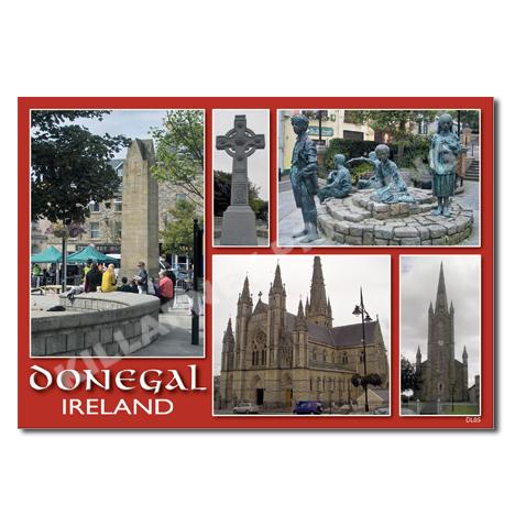 Donegal Postcard Ref: DL05