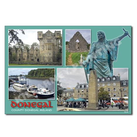 Donegal Postcard Ref: DL06