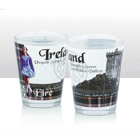Heraldic Ireland Range Shot Glass Ref: 69664