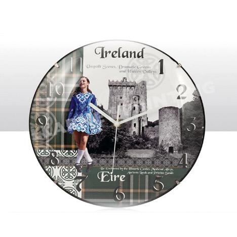 Heraldic Ireland Range Wall Clock Ref: 69666