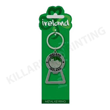 Ireland Charm Keyring – Spinning Bottle Opener Ref: 70506