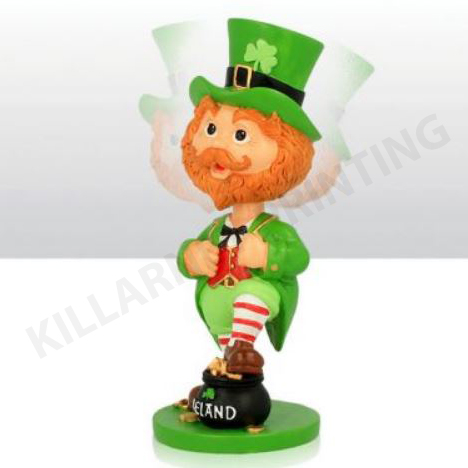 Paddy O' Shamrock Bobble Head Figure Large Ref: 73047