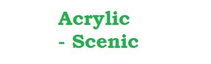 Acrylic - Scenic