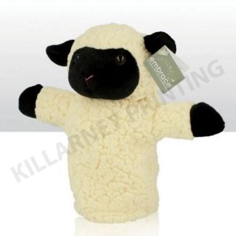 Soft Toy Range Black Sheep Glove Puppet Ref: 73762